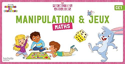 Ma pochette de maths CE1 - Les Pochettes Ateliers - Boîte de jeux manipulation - Ed. 2021