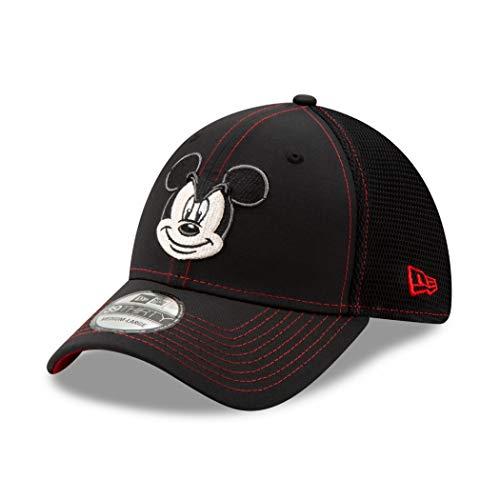 New Era 39Thirty Gorra ajustable con visera de Mickey Mouse