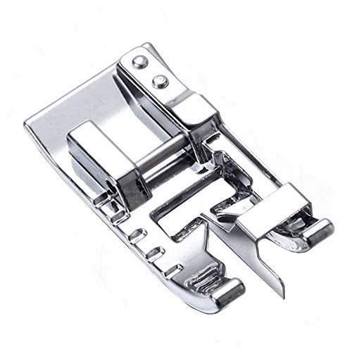 YEQIN Stitch in Ditch Foot SA184 Presser Foot Edge Joining Foot Sewing Machine Presser Foot #XC6797151 - Fits Low Shank Snap-On Singer, Brother, Babylock, Janome, Kenmore, White, Juki, etc