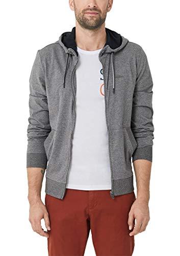 s.Oliver Herren 13.908.43.2778 Sweatshirt, Grau (Blend Grey 9730), Medium (Herstellergröße: M)