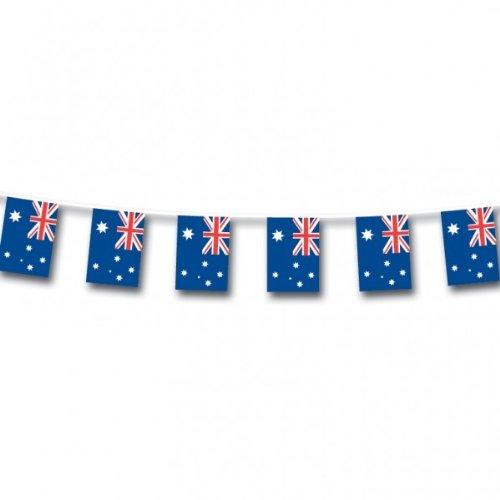 Australie Petit Banderole Drapeaux - 3m X 18cm - Australien