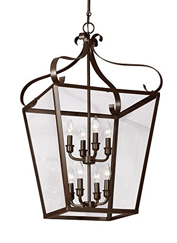 Sea Gull Lighting 5119408-782 Eight 5119408-782-Eight Light Hall/Foyer, Brown