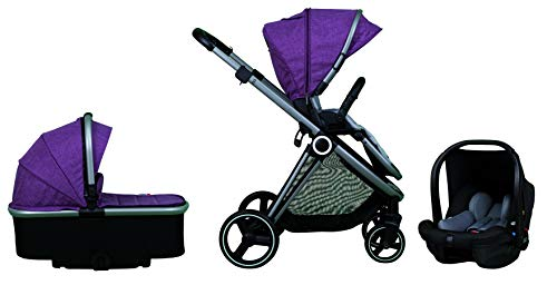 Casualplay Cochecito tres pieza Space, color Purple