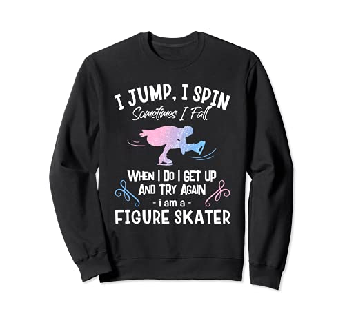 Figure Skater ギフト ガールズ フィギュアスケート I Am A Figure Skater トレーナー