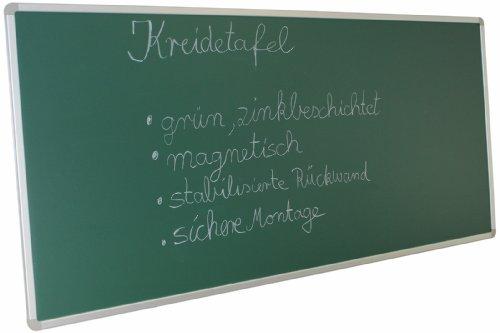 Kreidetafel Schultafel 120cm x 90cm Wandtafel grün Greenboard Memoboard magnetisch Pinnwand