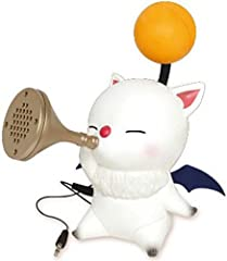 """Officially Licensed by Taito New and inside retail packaging Required 3 AAA Batteries (Not Included) Perfect For An Moogle Fan! Approx. Size: 4.7""""L x 3.5""""W x 5.9""""H"""