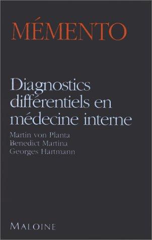 Diagnostics Differentiels En Medecine Interne