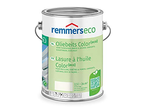REMMERS ECO OEL-FARBE - 2.5 LTR (TANNENGRUEN RAL 6009)