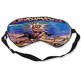 Lidanie Sleeping Eye Mask, with Elastic Headband, Soft Eye Mask The Beastmaster Suitable for Night Sleep, Travel, Nap