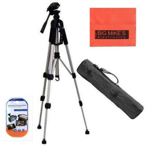 Lightweight 57-inch Camera Tripod for Canon EOS Rebel T3, T3i, T4i, T5, T5i T6i, T6s, T7, T7i, EOS 60D, EOS 70D, EOS 80D, EOS 5D Mark III, EOS 6D, EOS 7D Mark II, EOS-M, EOS-M3, EOS-M50 Cameras