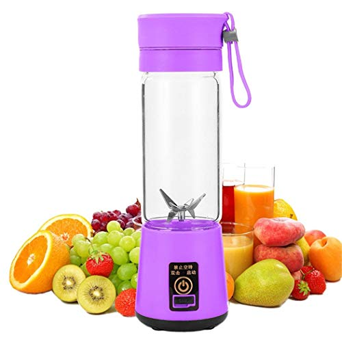 Great Deal! Almost 380ml Portable Electric Juicer USB Rechargeable Mixer Juice Squezers Machine Juic...