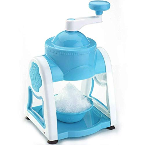 Atmiya Creation Plastic Ice Gola Slush Maker, Ice Snow Maker Machine Set with 3 Bowl, 1 Glass, 6 Sticks and 1 Dish (Multicolour)