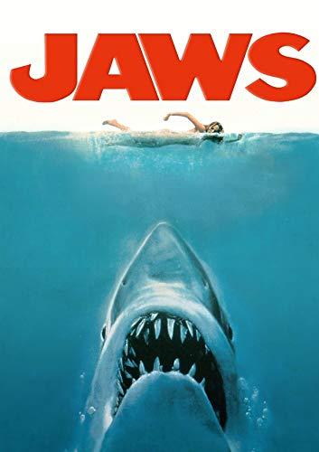RPW Jaws 1975 Vintage Classic - Póster de película (A3, 42 x 30 cm, tamaño A4), 21 x 30 cm, A3