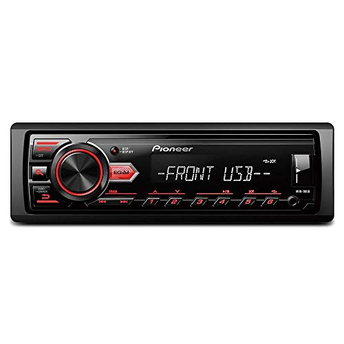 MP3 Player Automotivo Pioneer MVH-98UB 1 Din USB AUX FM RCA Interface Android Busca Pasta 4x23W RMS
