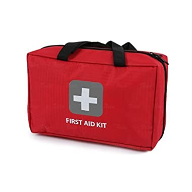 First Aid Kit – 291 Pieces – Bag. Packed with hospital grade medical supplies for emergency and survival situations. Ideal for the Car, Camping, Hiking, Travel, Office, Sports, Pets, Hunting, Home