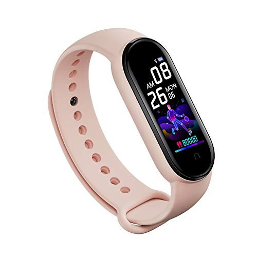 MOLEK High-End Fitness Trackers HR, Activity Trackers Health Exercise Watch with Heart Rate and Sleep Monitor, Smart Band Calorie Counter, Step Counter, Pedometer Walking for Men Women