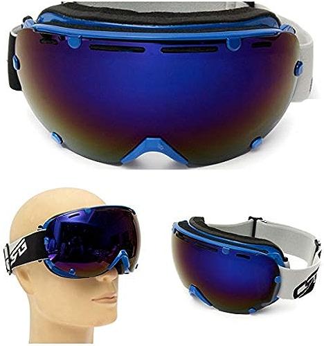 JINHUGU Lunettes de soleil CRG101-5A de lunettes de ski CRG101-5A de lunettes de ski de snowboard anti-buée de double UV nouveau