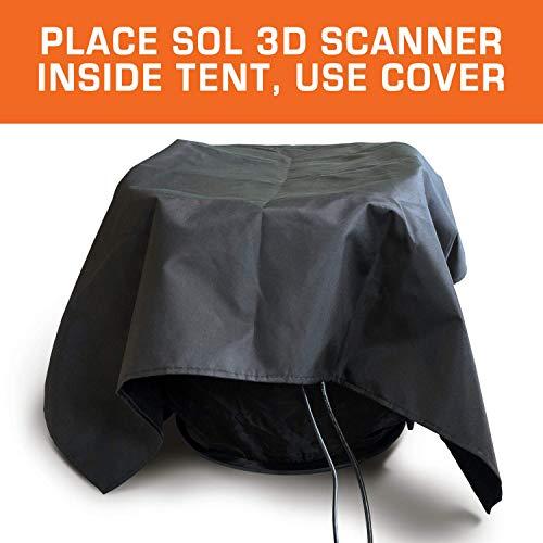 SOL 3D Scanner | White Light Desktop Laser 3D Scanner | Precise, Affordable and User-Friendly | New Generation Auto Scan 0.1 mm