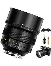 TTArtisan Obiektyw 90 mm F1.25, kompatybilny z Leica M-Mount M2 M3 M4 M5 M6 M7 M8 M9 M9P M10 M262 M240 M240P M10P M10M