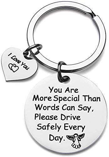 Dive Safe Keychain Gift for Dad Husband Boyfriend on Father''s Day Thanksgiving Anniversary Gift