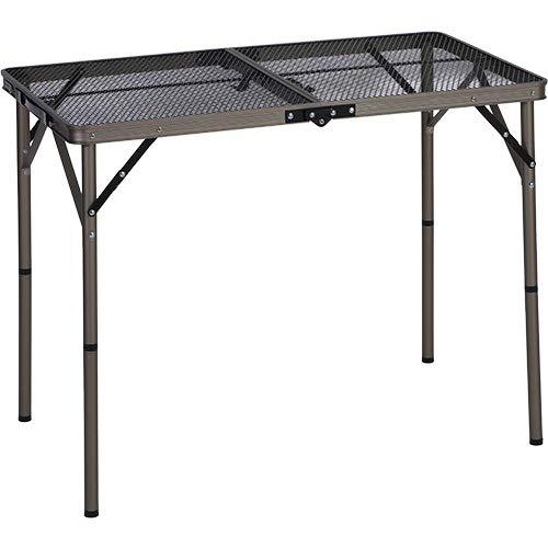 [クイックキャンプ] アウトドア 折りたたみ フルメッシュテーブル 90cm QC-2FMT90V