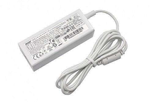 Adattatore originale per Acer Aspire R7-371T, S5-371, S5-371T, S7-392, Switch 11 (SW5-171), Switch Pro 11 (SW5-171P), V3-331, V3-371, V3-372 / C730 Chromebook / CB3-111 Chrombook 11 / CB3-131 Chromebook 11 / CB5-132T Chromebook R11 / CB5-311 Chromebook 13 / CB5-311P Chromebook 13 / TravelMate P236-M