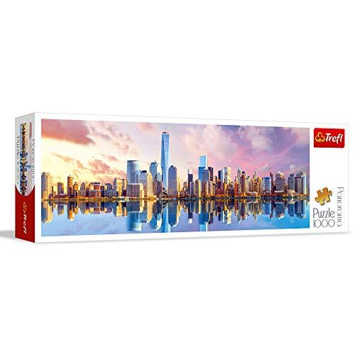 Trefl 29033 Panorama-Puzzle Manhattan, 1000 Teile, Farbig