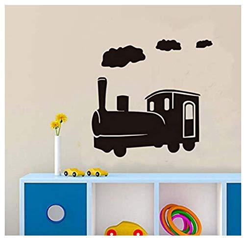 Click To Open Uitgebreide weergave 59 x 59 cm Cartoon Trek muursticker vinyl afneembare muurkunst 3D muursticker voor kinderkamer decoratie accessoires