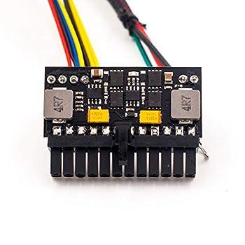 RGEEK 24pin PSU 12V DC Input 150W Peak Output Switch DC-DC ATX Pico PSU Mini ITX PC Power