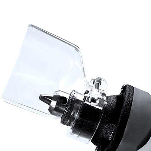 Origlam, schermo protettivo trasparente, supporto per mini trapano avvitatore, per smerigliatrice elettrica Dremel