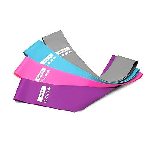 Ksde Elastische Bands Voor Fitness Latex Oefening Bands Trek Riem Fitness Anti-Skid Weerstand Riem Elastische Riem Yoga Trek Riem