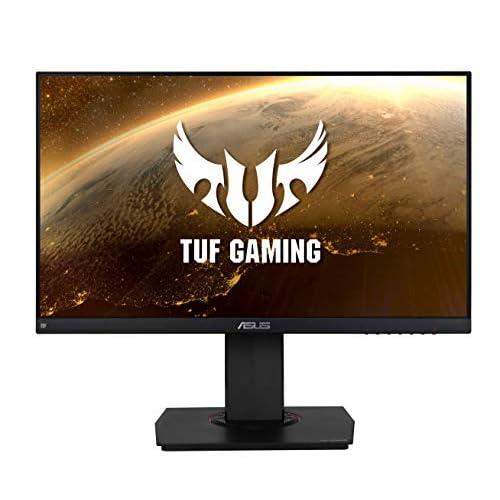 ASUS TUF Gaming VG249Q, 23.8'' FHD (1920x1080) Gaming monitor, IPS, up to 144Hz, 1ms MPRT, D-SUB, DP, HDMI, FreeSync, Low Blue Light, ELMB, Shadow Boost