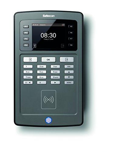 Safescan TA-8015 - Zeiterfassungssystem: Terminal mit RFID Kartenleser und Software