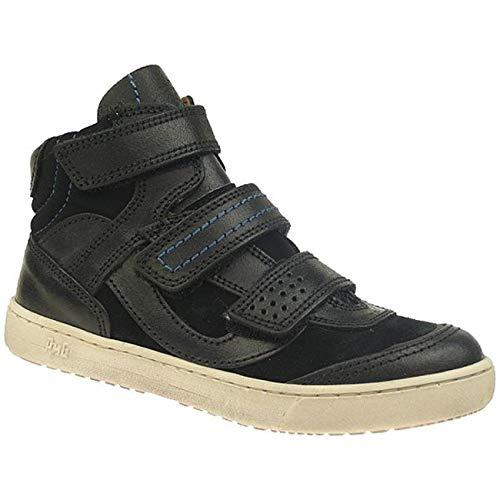 PRIMIGI Farrel hochwertige Leder Knöchelschuhe Skaterschuhe Gr.30-39 schwarz EUR 35