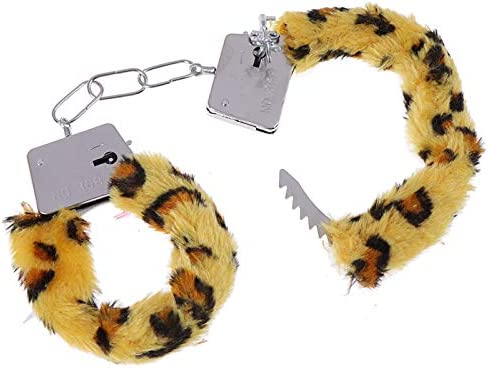 Hairy Colorful Handcuffs Bracelet Lovely Fluffy Leg Ankle Cuffs Detachable Adjustable Manacle product image