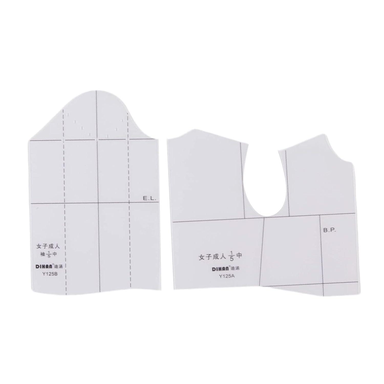 Ranking TOP8 shamjina Cloth Design Ruler New Shipping Free Sewing 1:4 Tool Fashion fo 1:5
