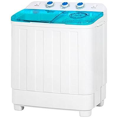Best Choice Products Portable Compact Mini Twin Tub Washing Machine
