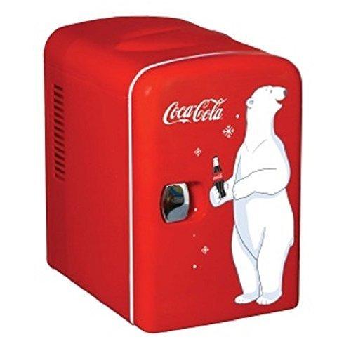 4 X Koolatron KWC-4 Coca-Cola Personal 6-Can Mini Fridge