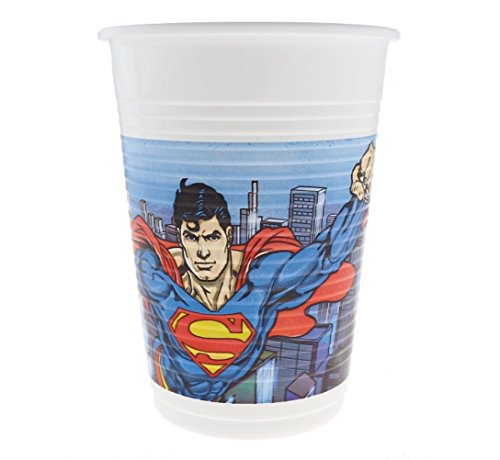 Superman Comics 8 gobelets