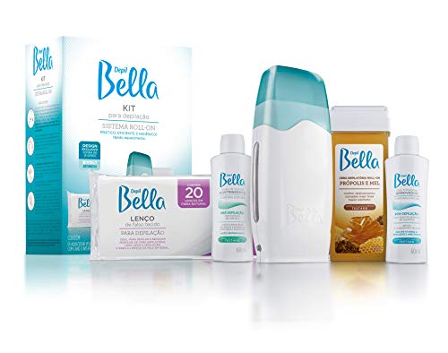 Kit Para Depilação Sistema Roll-On, Depil Bella