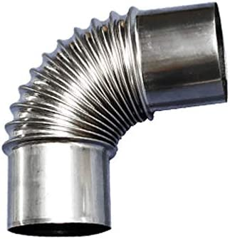 N\U Elbow Stove Pipe Chimney Industry No. 1 Max 64% OFF Stainless Steel Exchange Extension