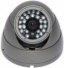 EYEMAX IB-3824 - Eyeball IR Dome Camera - 420TVL + Sony Super HAD + 3.6mm fixed lens + 24IR + Dark Gray