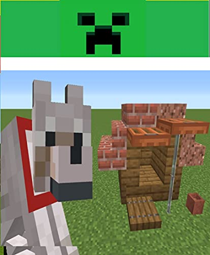 Minecraft- How to m: ake a Dog House (easy) (English Edition)