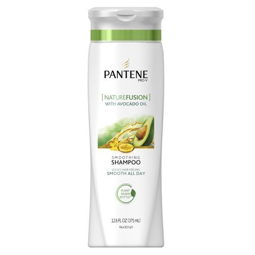 Pantene Pro-V NatureFusion Smooth Vitality Shampoo, 12.6-Fluid Ounces (Pack of 3) (packaging may vary) by Pantene