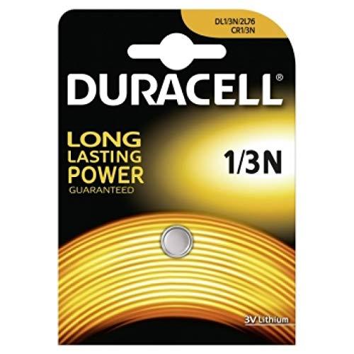 DURACELL Foto Batterie CR1/3N 1er Blister, Lithium, 3V