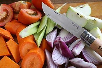 OPINEL Couteau N°12 Lame Inox Manche Hêtre., Mixte Adulte, Brun, 12 cm