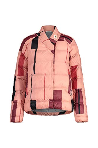 Maloja Khoram Regenjacke für Damen M Lotos Streifen