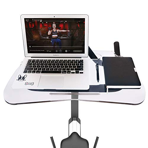 Lifesmells Peloton Laptop Tray,Peloton Spin Bike Tray,Desk Tray Merging Work with Exercise,Plus Size