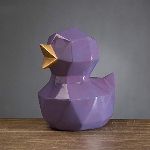 LJXLXY Decoración Manualidades Origami geometría Animal Pollito Lindo Adornos habitación Infantil Estudio 2