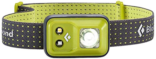 Black Diamond Cosmo Headlamp Grass / Outdoor Stirnlampe mit Rotlicht und Dimmfunktion / Batteriebetrieben, max. 200 Lumen